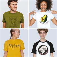 Vegan Food & Living T Shirt Shop