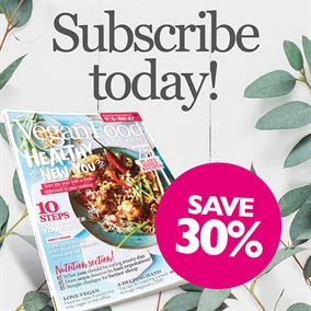 Subscribe to Vegan Food & Living today!