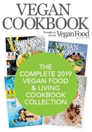The Complete 2019 Vegan Food & Living Cookbook Collection