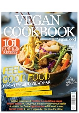 Vegan Food & Living Cookbook: Feel Good Food for a Healthy New Year